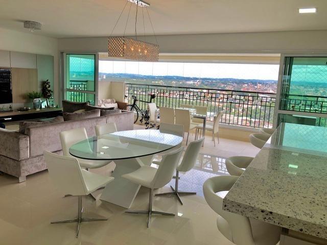 Belíssimo apartamento de alto padrão com 4 dormitórios, em condomínio clube, no Ecoville - Foto 2