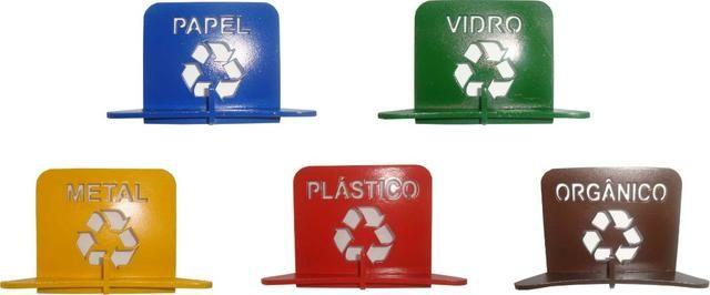 Suporte lixeira pendurador-Separação de lixo compacto - Foto 3