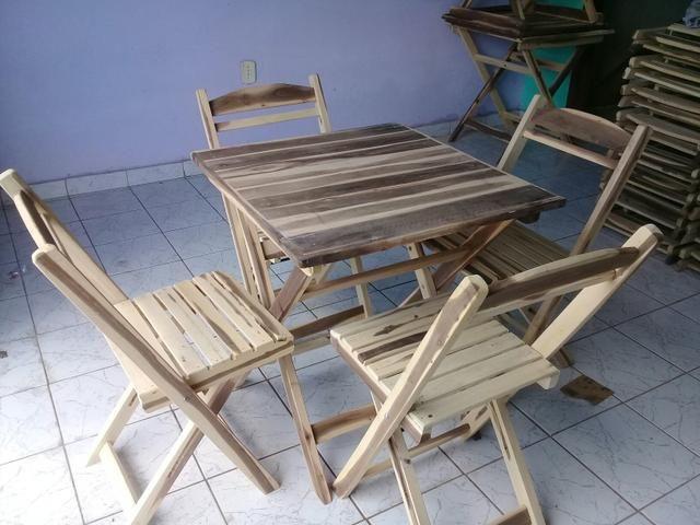 JG Mesa cadeira Dobrável PRONTA ENTREGA - Foto 2