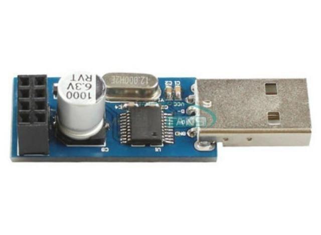 COD-AM158 CH340T ESP8266 Serial sem fio Wifi módulo bietápica placa adaptador USB Ardu - Foto 2