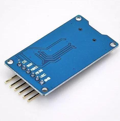 COD-AM50 Modulo Leitor Cartão Tf Micro Sd Spi Arduino - Automação - Robotica - Foto 3