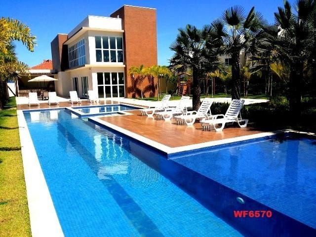 CA1699 Nathus Ville, casa duplex com 3 suítes no Eusébio, 2 vagas, área de lazer completa - Foto 2