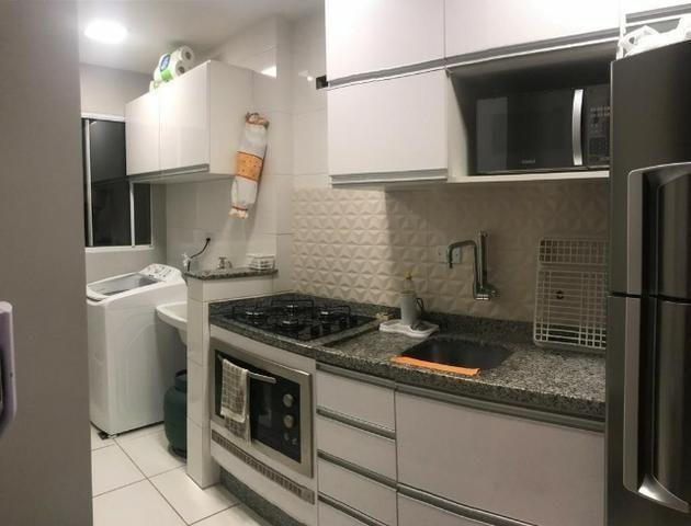 2 Quartos Todo Mobiliado Apartamento Condomínio Montalcino - Foto 2