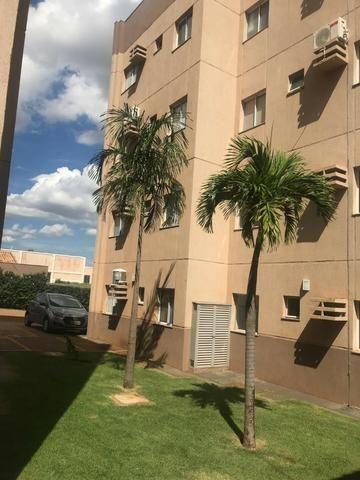2 Quartos Todo Mobiliado Apartamento Condomínio Montalcino - Foto 3