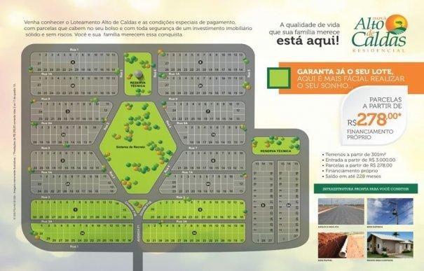 Itapua Alto de Caldas - Lotes financiados em boletos e promissórias - Foto 4