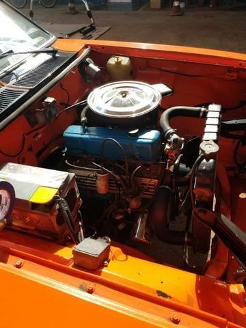 Opala ss de plaqueta original laranja boreal placa preta - Foto 18