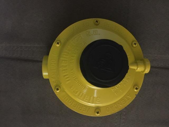 Regulador Gas Indl Amarelo 76511 Alianca Alianca