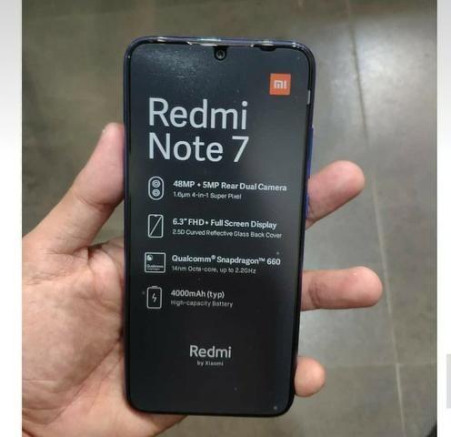 Celular Xiaomi Redmi Note 7 64GB Versão Global Azul - Foto 4