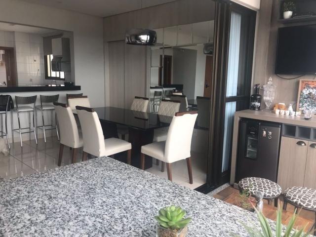 278 - goiabeiras tower - apartamento padrão 125m² com área gurmet completa - Foto 3