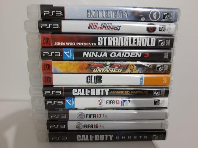 Jogos de PS3 Playstation 3 - R$30 a unidade ou todos por R$200