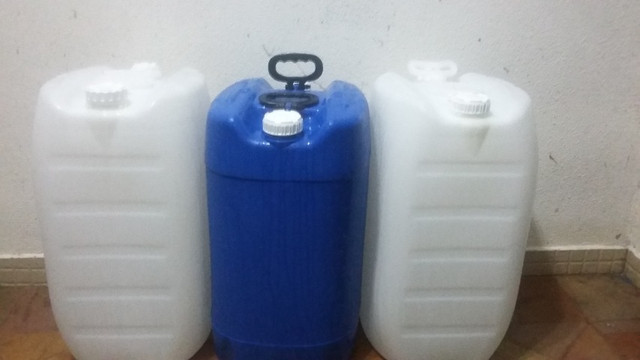 JR Tambores - Galão Plastico 50 Litros - Tambor/Bombona - Foto 3