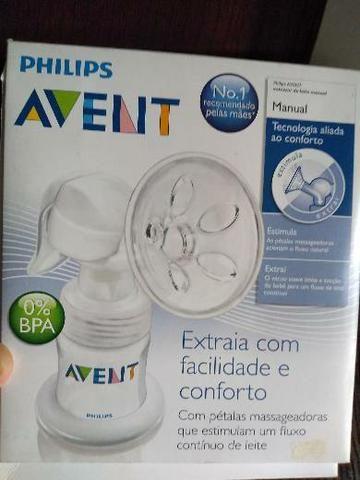 Extrator de leite manual 110 reais