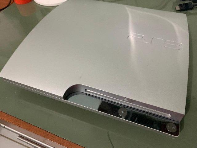 Playstation 3 Edição Cinza - Garantia - Destravado - Foto 2