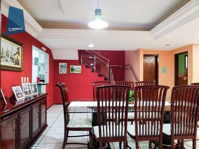 Casa Duplex 360 m² à venda, 5 suites, 4 vagas, Edson Queiroz, Fortaleza. - Foto 17