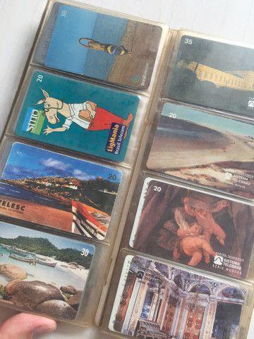 Vendo coleção de cartão telefônico - Foto 3
