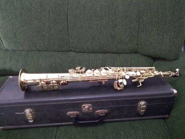 Sax soprano Eagle 0311 - Aceito cartão - Foto 6