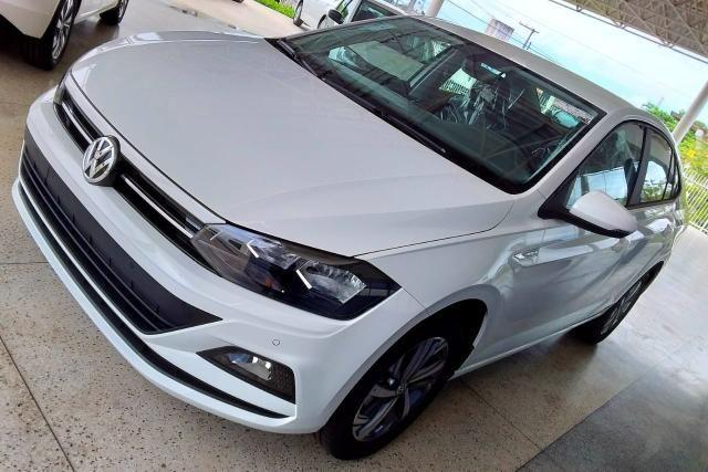Novo Volkswagen Virtus Comfortline 2019-2020 - 19/20 - Branco Cristal - Foto 3
