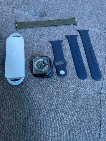 Apple Watch série 6 44? azul  - Foto 2