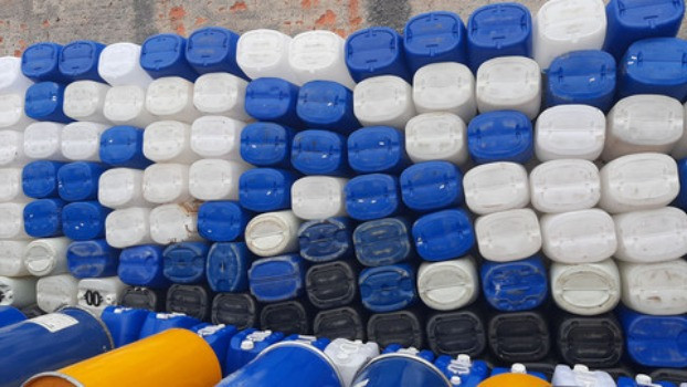 JR Tambores - Galão Plastico 50 Litros - Tambor/Bombona - Foto 5