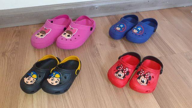 Crocs Infantil Para Menino e Menina (Calçados  Novos)