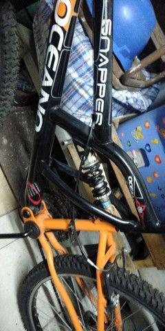 Bicicleta semi_nova.  - Foto 4