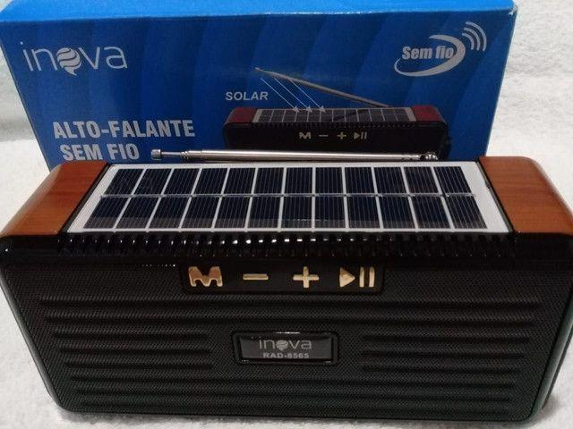 Radio solar sustentável FM Bluetooth,cartão De Memoria,pendrive - Foto 3