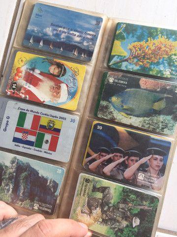 Vendo coleção de cartão telefônico - Foto 4