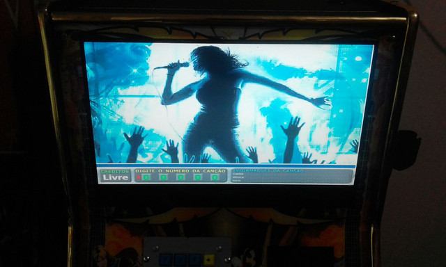 Aluguel de karaoke 2 em 1