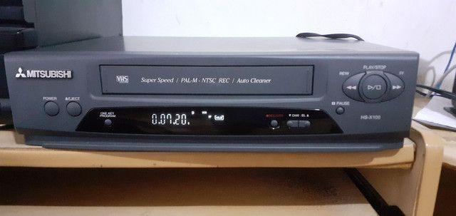 Vídeo Cassete Mitsubishi 4 Cabeças