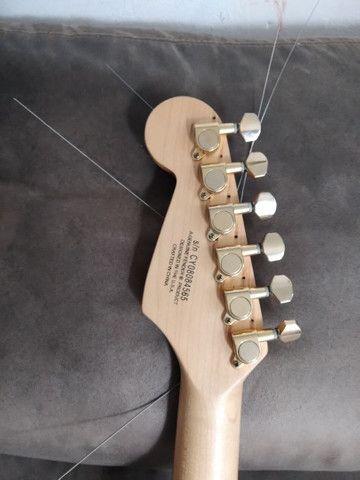 Guitarra Fender Squier bullet vendo/troco - Foto 5