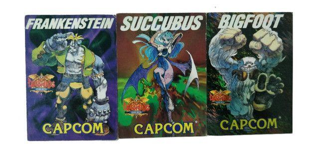 Coleção de Cartão Darkstalker Capcom Arcade Antigo - Foto 5