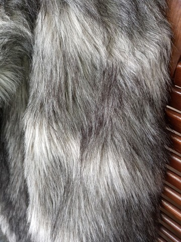 Casaco de pele sintético - Foto 5