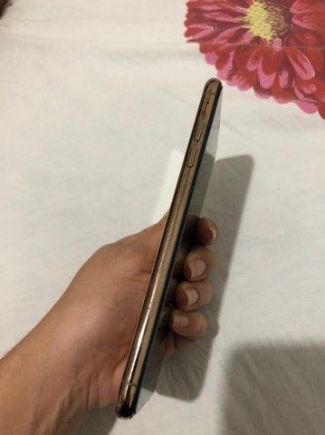 VENDO ou TROCO IPHONE XS MAX 256g GOLD - Foto 2