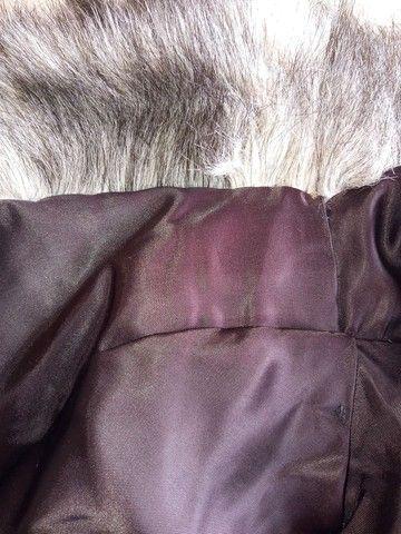 Casaco de pele sintético - Foto 4
