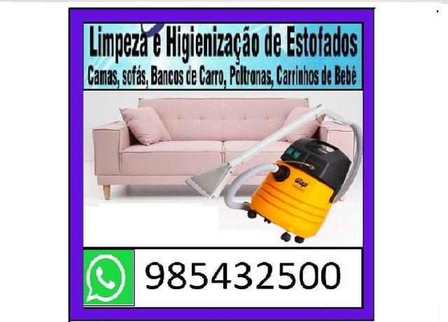 Lavagem para sofá a seco (informações pelo whatsapp)<br>