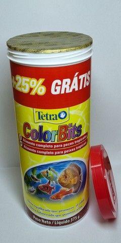 Ração Tetra Color Bits 375g - Foto 2