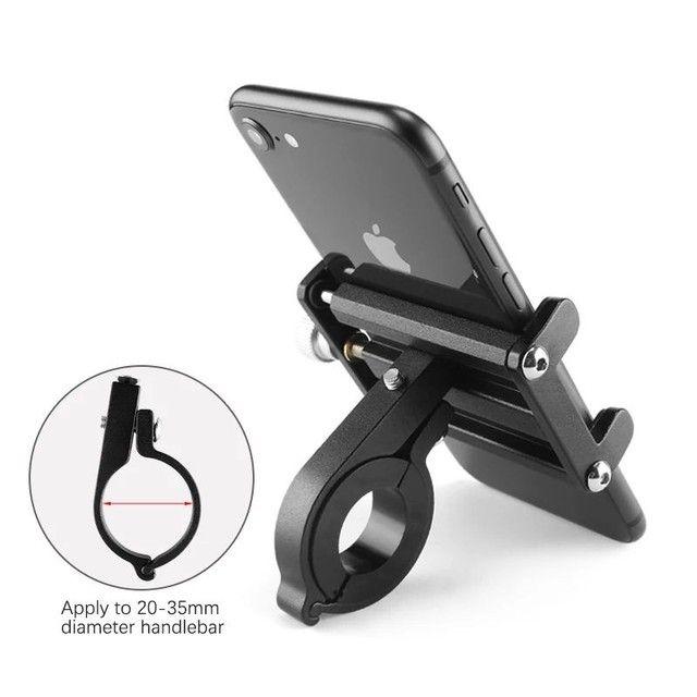 Suporte de celular para moto e bicicleta - Foto 2