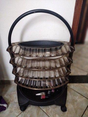 Carrinho de esmalte com 4 bandejas - Foto 2