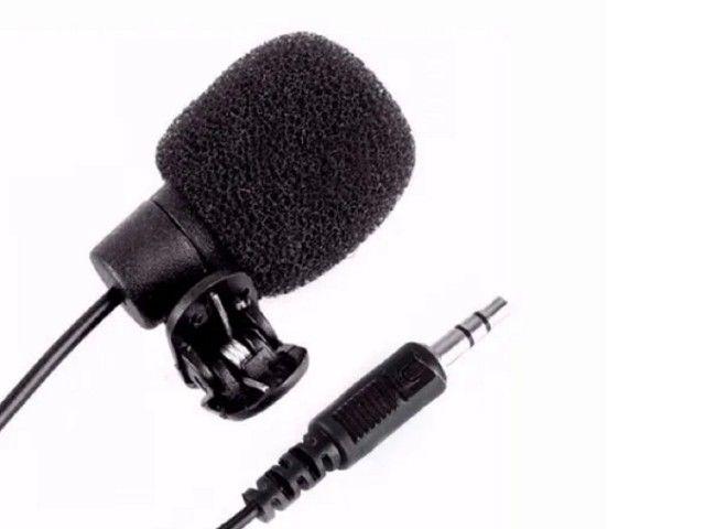 Kit Microfone Lapela + Cabo Adaptador P/ Gopro - Foto 6
