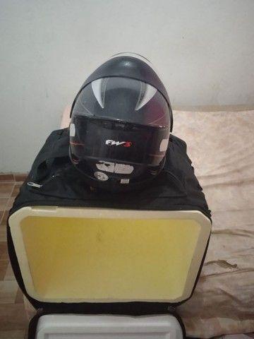 Capacete + bag  - Foto 2