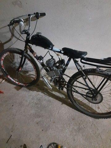 Vendo bike motorizada zera - Foto 2