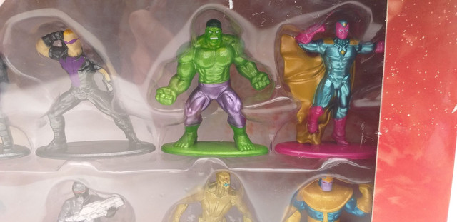 BONECOS marvel advengers nano metalfigs  - Foto 4