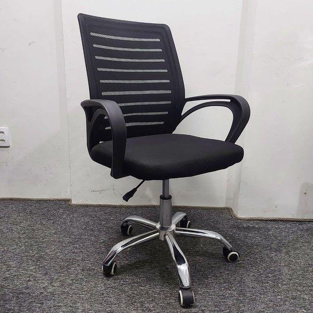 Cadeira Nova Garantia Rodinha Giratória Diretor Tela