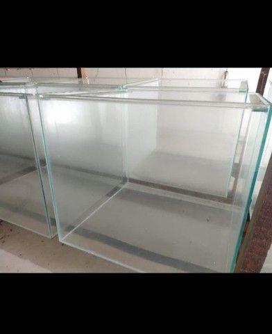 Aquário 50x50x45 - vidro de 5mm- 112 litros. - Foto 3