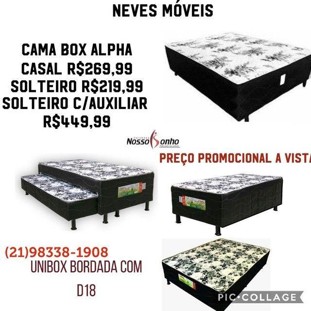 Cama Box Alpha