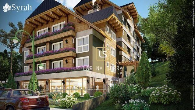 Apartamento à venda, 107 m² por R$ 728.260,47 - Lagos Do Bosque - Gramado/RS - Foto 4