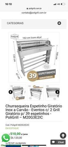 Churrasqueira Eletrica espetinhos - Pra vender Hoje! - Foto 3