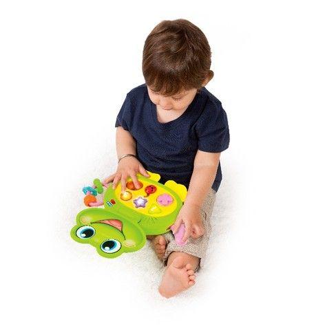 Laptop Brinquedo Baby Sapinho Infantil Com Sons E Luzes - Foto 6