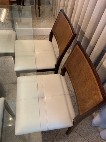 Mesa de jantar 8 cadeiras  - Foto 6