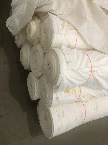 Tecido poliéster algodão (P-A) 2,55m de largura
